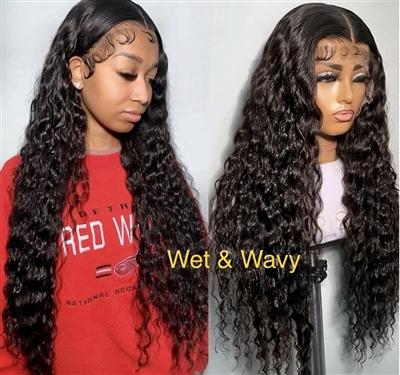 Brazilian Wet & Wavy Lace Front Wig
